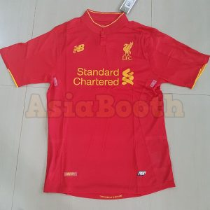 2016-2017 Liverpool Home Jersey (Plain / No Name)