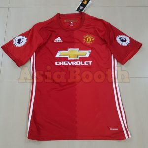 2016-2017 Manchester United Home Jersey Climacool