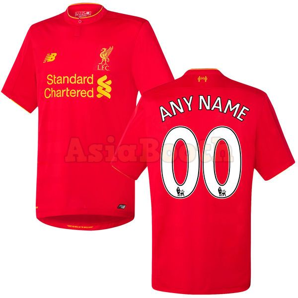 the latest f9ff5 d95cd 2016-2017 Liverpool FC Home Jersey Shirt For Men (Personalized Name &  Number)