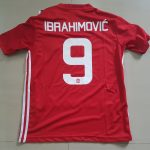 EFL Cup Final 2017 Manchester United Home Jersey (Ibrahimovic)
