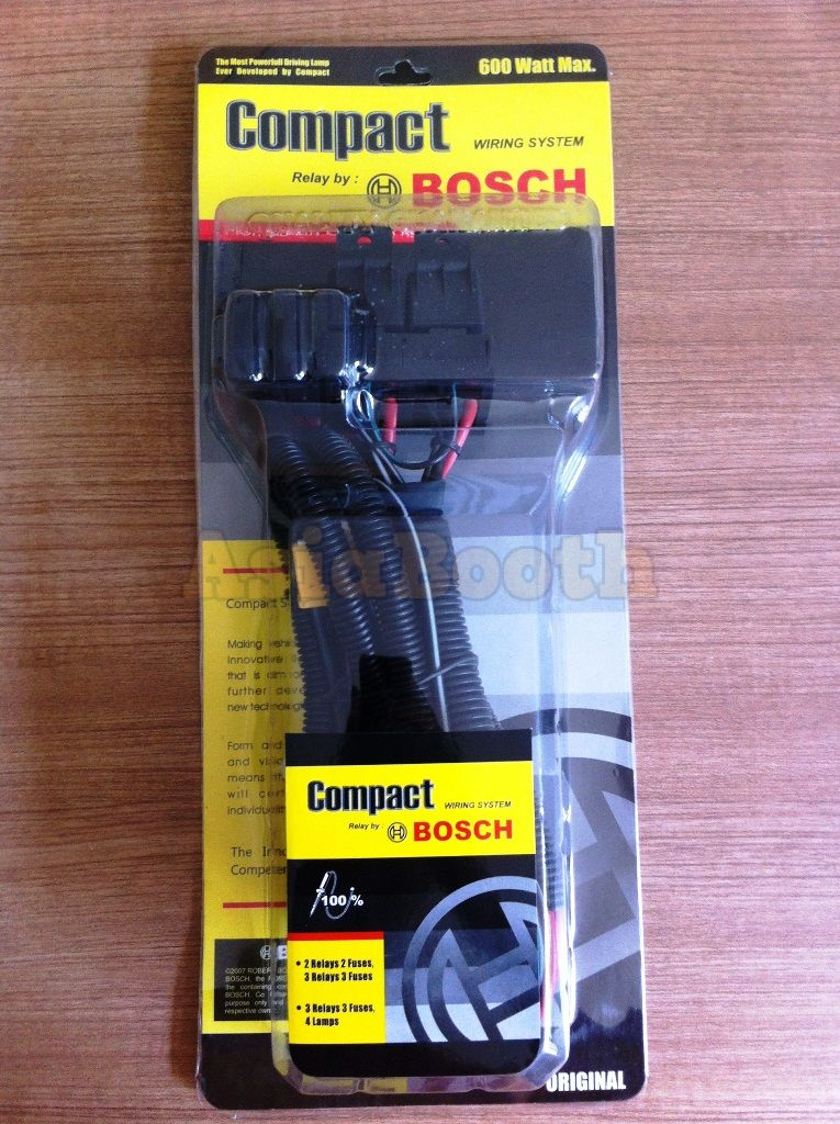 universal h4 h l wiring harness system for car motorcycle rh asiabooth com Bosch Relay Wire Up Bosch Relay Configuration