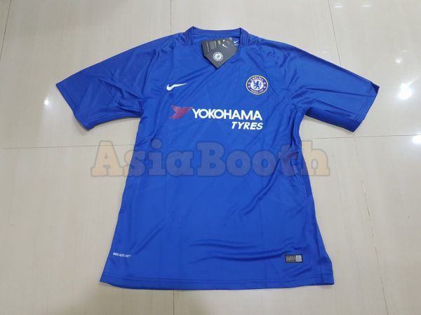 new product 7c5c7 46367 2017-2018 Chelsea FC Home Jersey Shirt For Men Dri-FIT (Personalized Name &  Number)