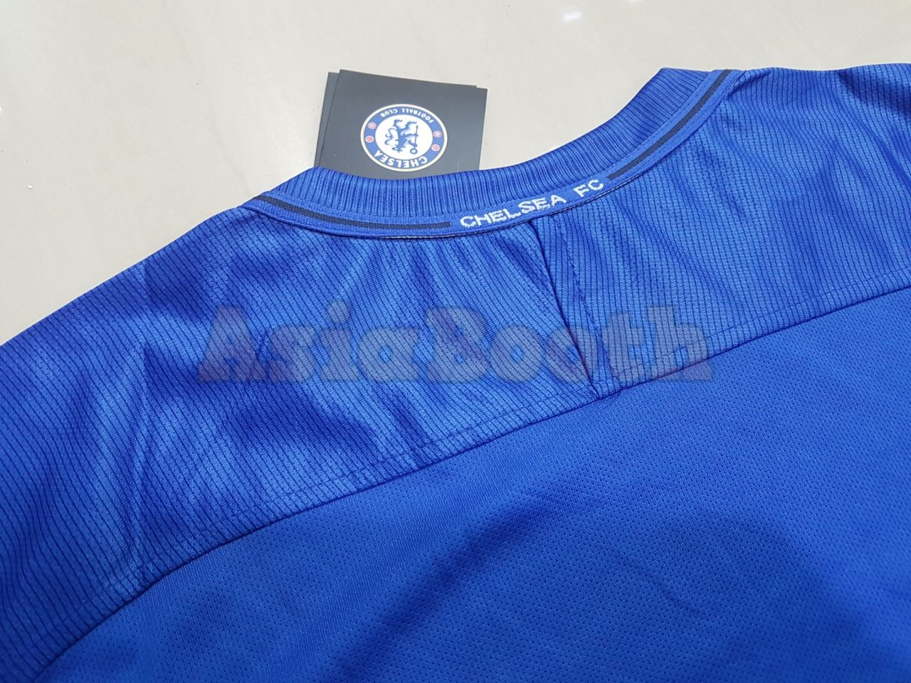 d9a525f87b0 2017-2018 Chelsea FC Home Jersey Shirt For Men Dri-FIT (Eden Hazard ...