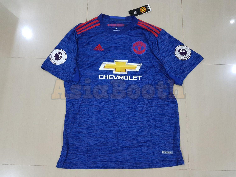 cd4b1de5d 2016-2017 Manchester United Away Jersey Shirt Climacool For Men ...