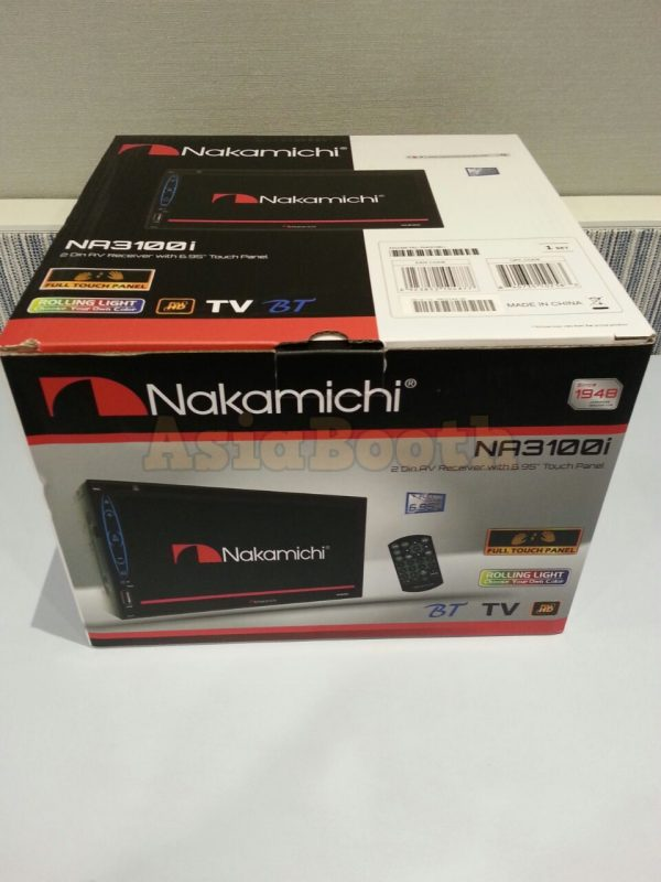 Nakamichi NA3100i Car Tv Radio 2Din - Box