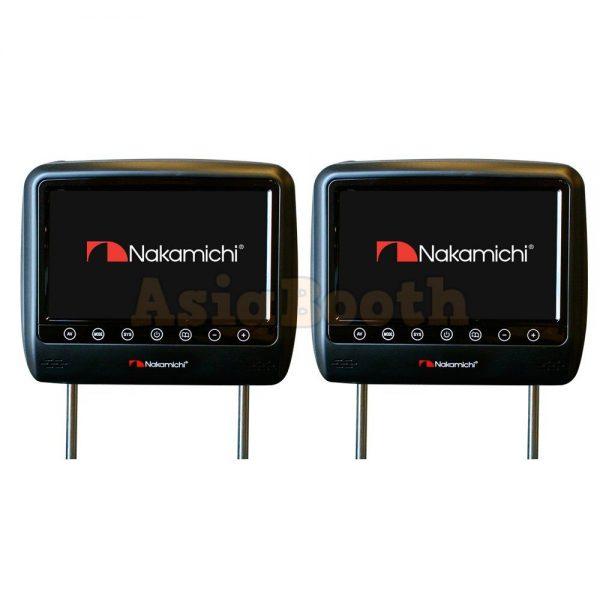 Nakamichi NHM-080 8 Inch Car Headrest LCD TV Monitor