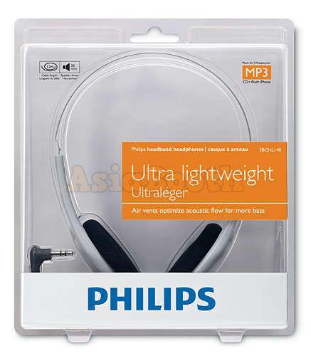 PHILIPS SHL140 Lightweight Headphones