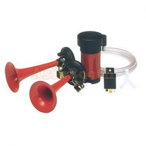 Hella Twin-Tone Air Horn Kit
