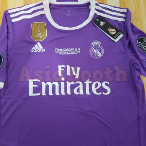 2017 Champions League Final Cardiff Real Madrid Jersey Shirt