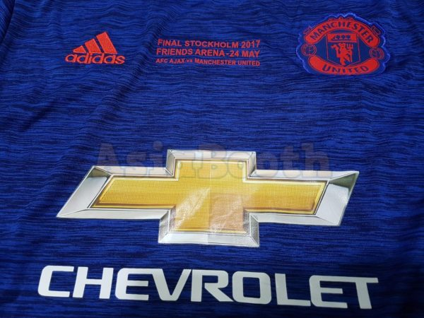 2017 Europa League Final Manchester United Jersey Shirt For Men