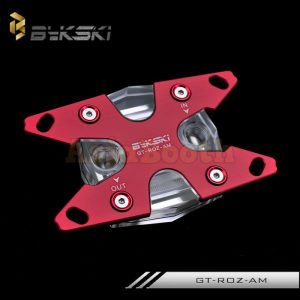 AMD Ryzen CPU Water Block - BYKSKI GT-ROZ-AM (Red)