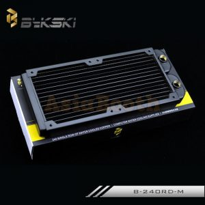 Bykski Computer Radiator Copper 240mm - B-240RD-M