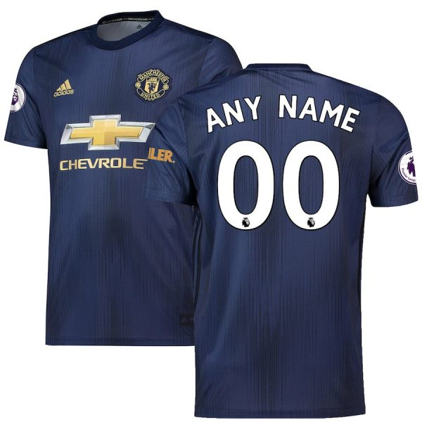 2018-2019 Manchester United Third Jersey For Men (Personalized Name & Number)