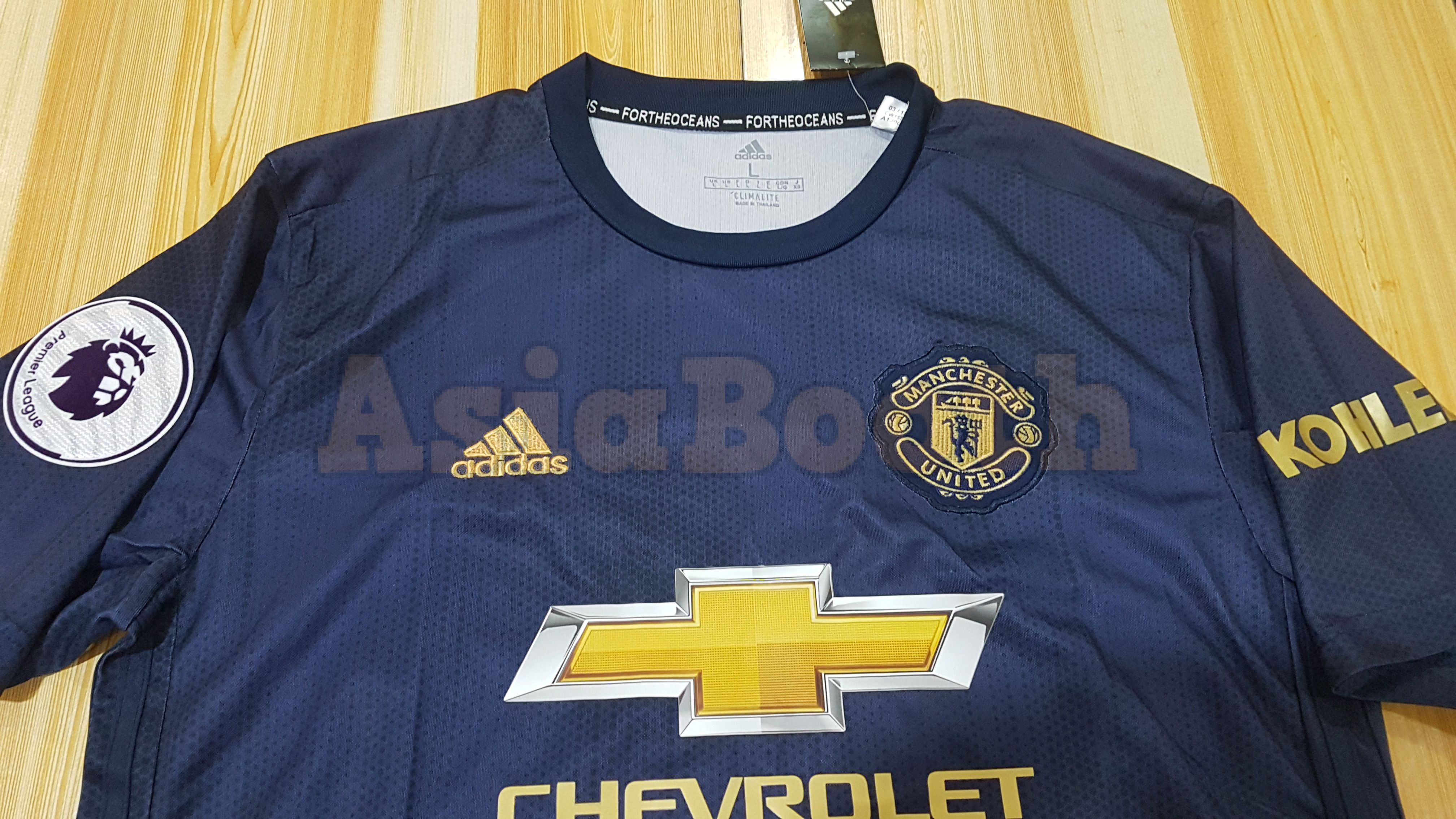 wholesale dealer c366a b7db1 2018-2019 Manchester United Third Jersey For Men (Personalized Name &  Number)
