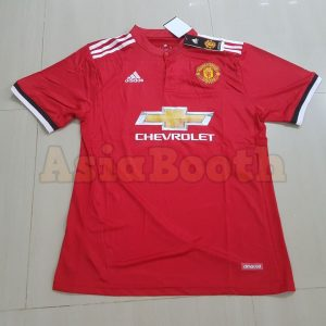 2017-2018 Manchester United Home Jersey