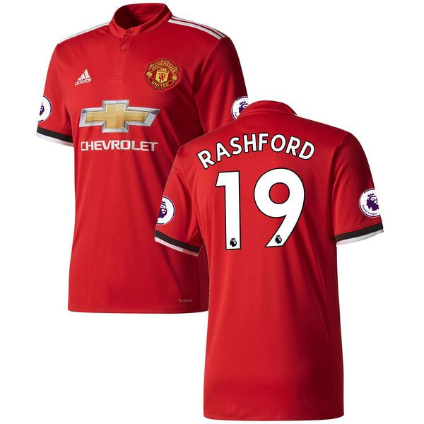41295185b97 2017-2018 Manchester United Home Jersey Shirt Climacool For Men (Marcus  Rashford) - Asia Booth