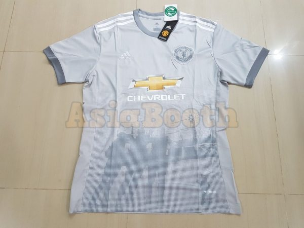 2017-2018 Manchester United Third 3rd Jersey