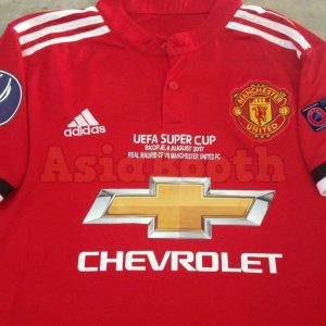 Manchester United Super Cup Jerseys 2017-2018