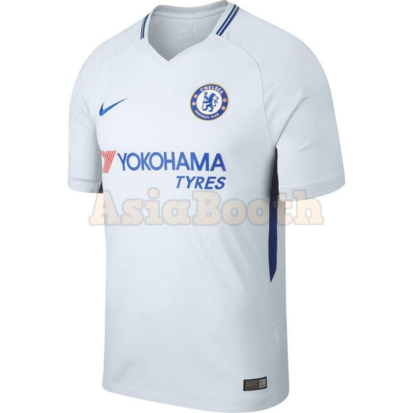 hot sale online 1b4e0 13092 2017-2018 Chelsea FC Away Jersey Shirt For Men Dri-FIT (Plain / No Name)