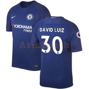2017-2018 Chelsea Home Jersey (David Luiz)