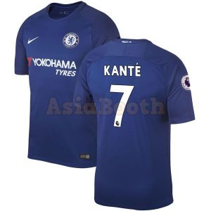 2017-2018 Chelsea Home Jersey (N'Golo Kante)