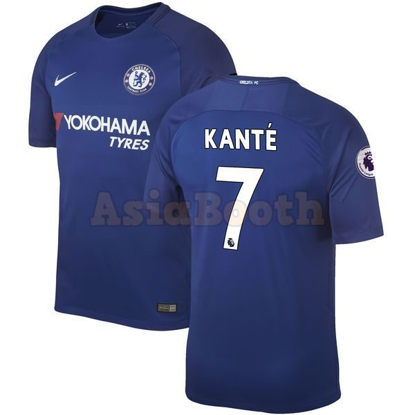 official photos 67435 6780e 2017-2018 Chelsea FC Home Jersey Shirt For Men Dri-FIT (N'Golo Kante)