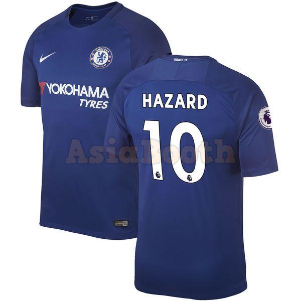 2017-2018 Chelsea FC Home Jersey Shirt For Men Dri-FIT (Eden Hazard ... b1a0a2bf1