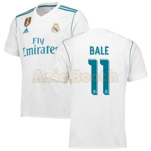 2017-2018 Real Madrid Home Jersey (Gareth Bale)