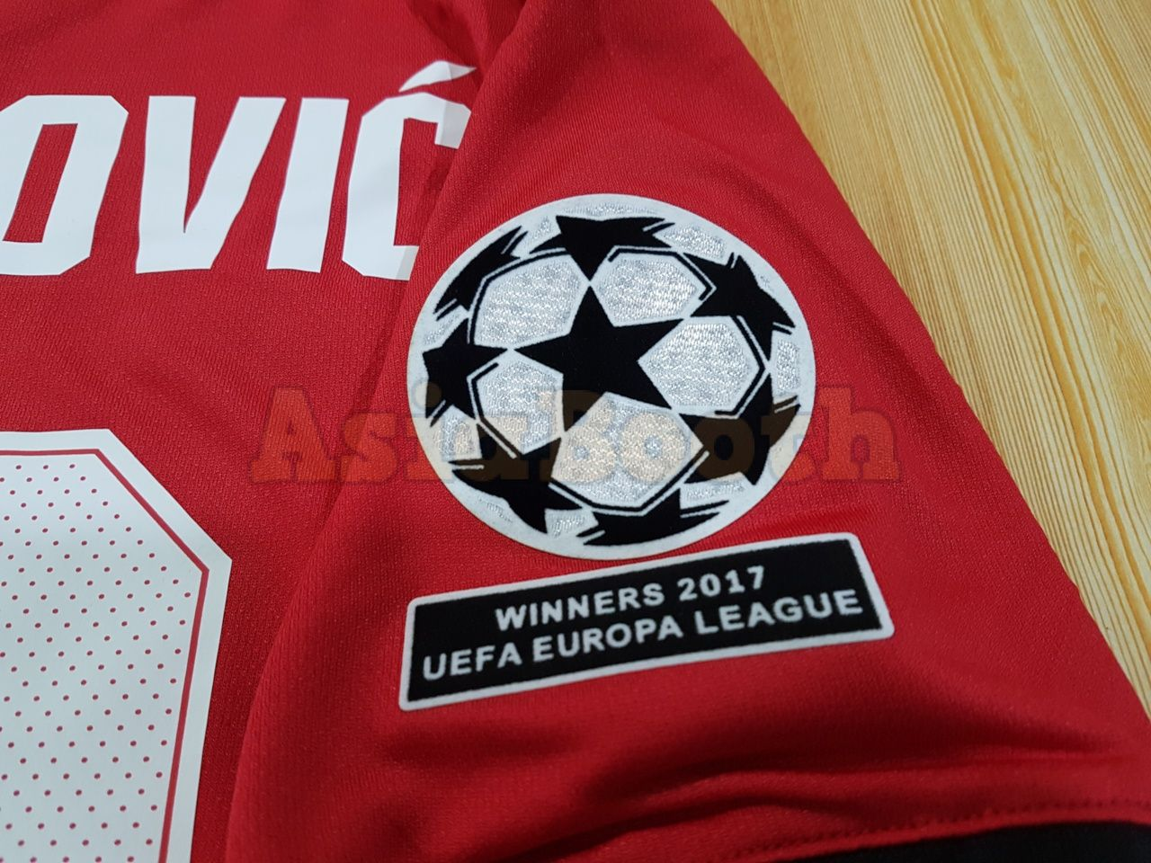 cheaper 106b2 f083a 2017-2018 Champions League Manchester United Home Jersey For Men  (Ibrahimovic #10)