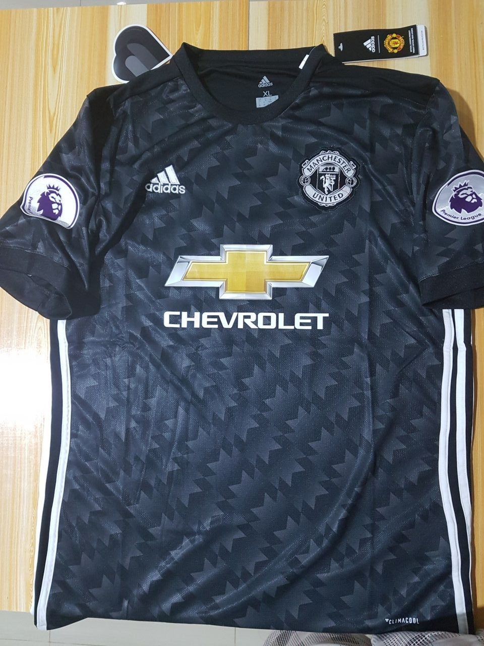 new arrival 82c21 70ad3 2017-2018 Manchester United Away Jersey Climacool For Men (Ibrahimovic #10)