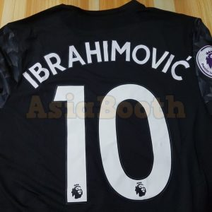 2017-2018 Zlatan Ibrahimovic Jerseys Away