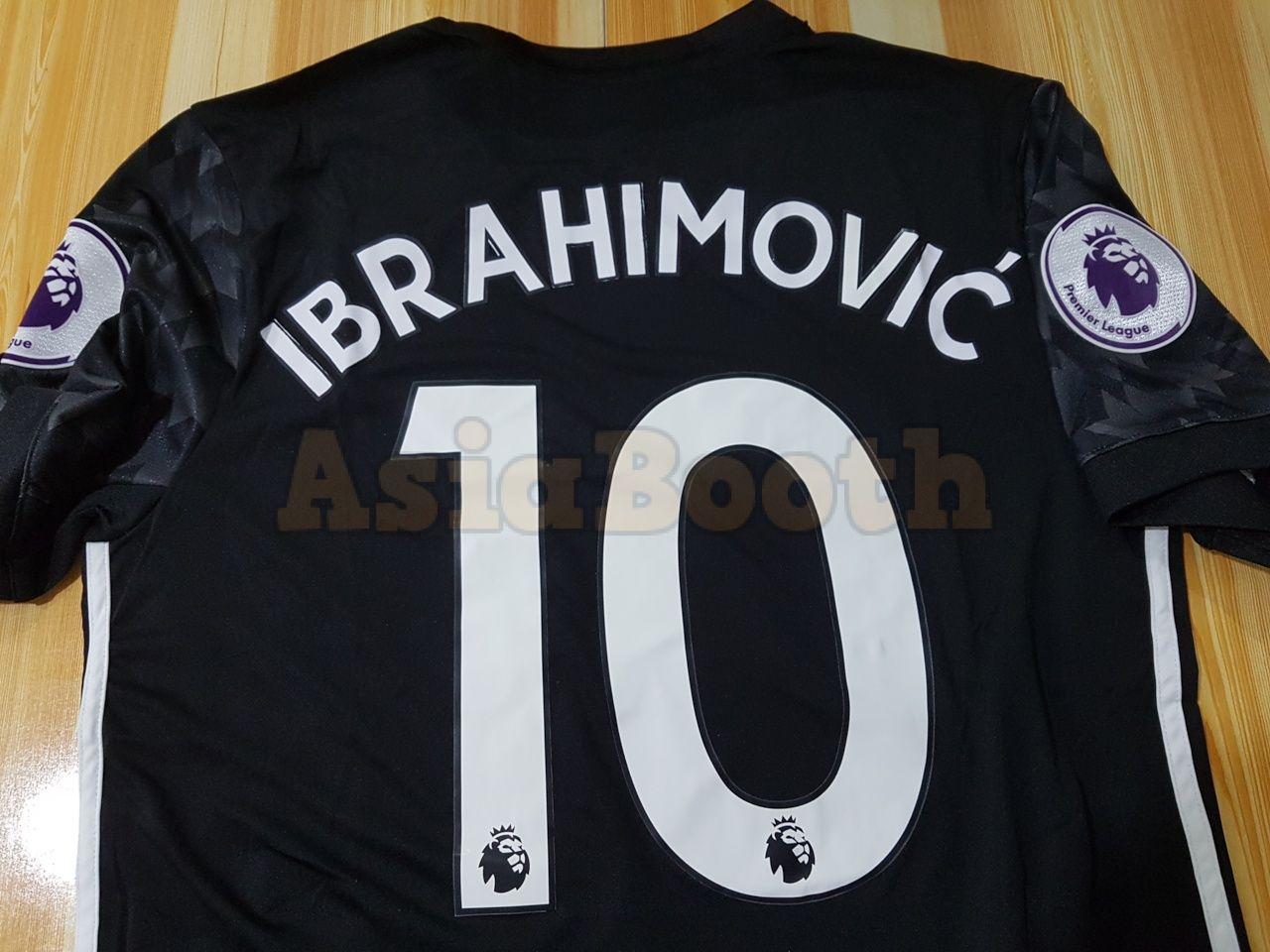 new arrival 28e9b d0518 2017-2018 Manchester United Away Jersey Climacool For Men (Ibrahimovic #10)