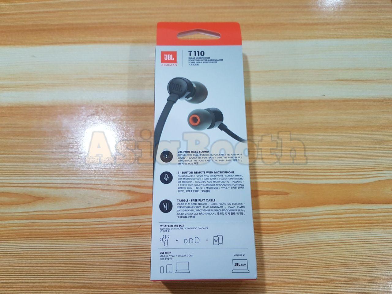 e97688d19b5 JBL T110 by Harman in-Ear Stereo Earphones - Asia Booth