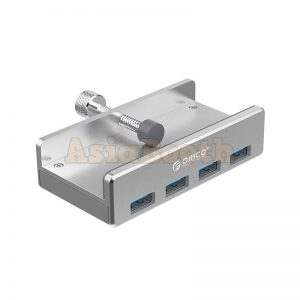 ORICO 4 Ports USB 3.0 Hub with Clip-On Type for Monitor & Desk