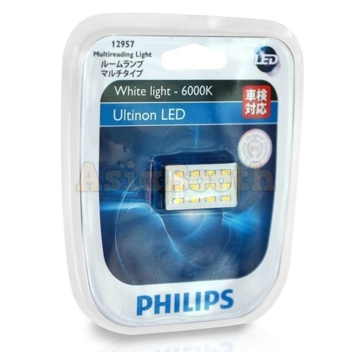 Philips 12957 Ultinon Led Car Interior Light Asia Booth