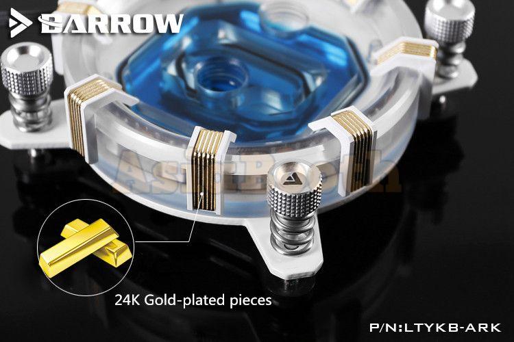 Barrow Aurora LRC 2 0 RGB Energy Series CPU Waterblock For AMD Ryzen AM4 -  LTYKBA-ARK