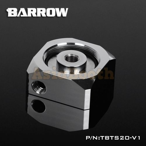 Barrow Pump Cover For D5/MCP655 Chrome Plated Water Cooling Accessories - TBTS20-V1
