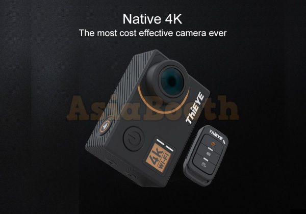 ThiEYE T5 Edge Native 4K Action Camera Dashcam