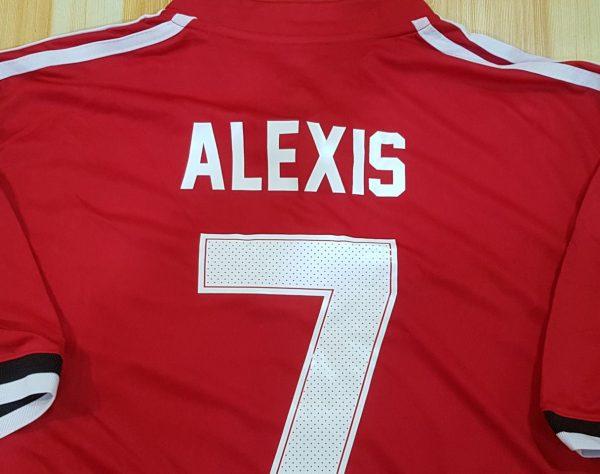 Alexis Sanchez UCL Champions League Manchester United Jersey
