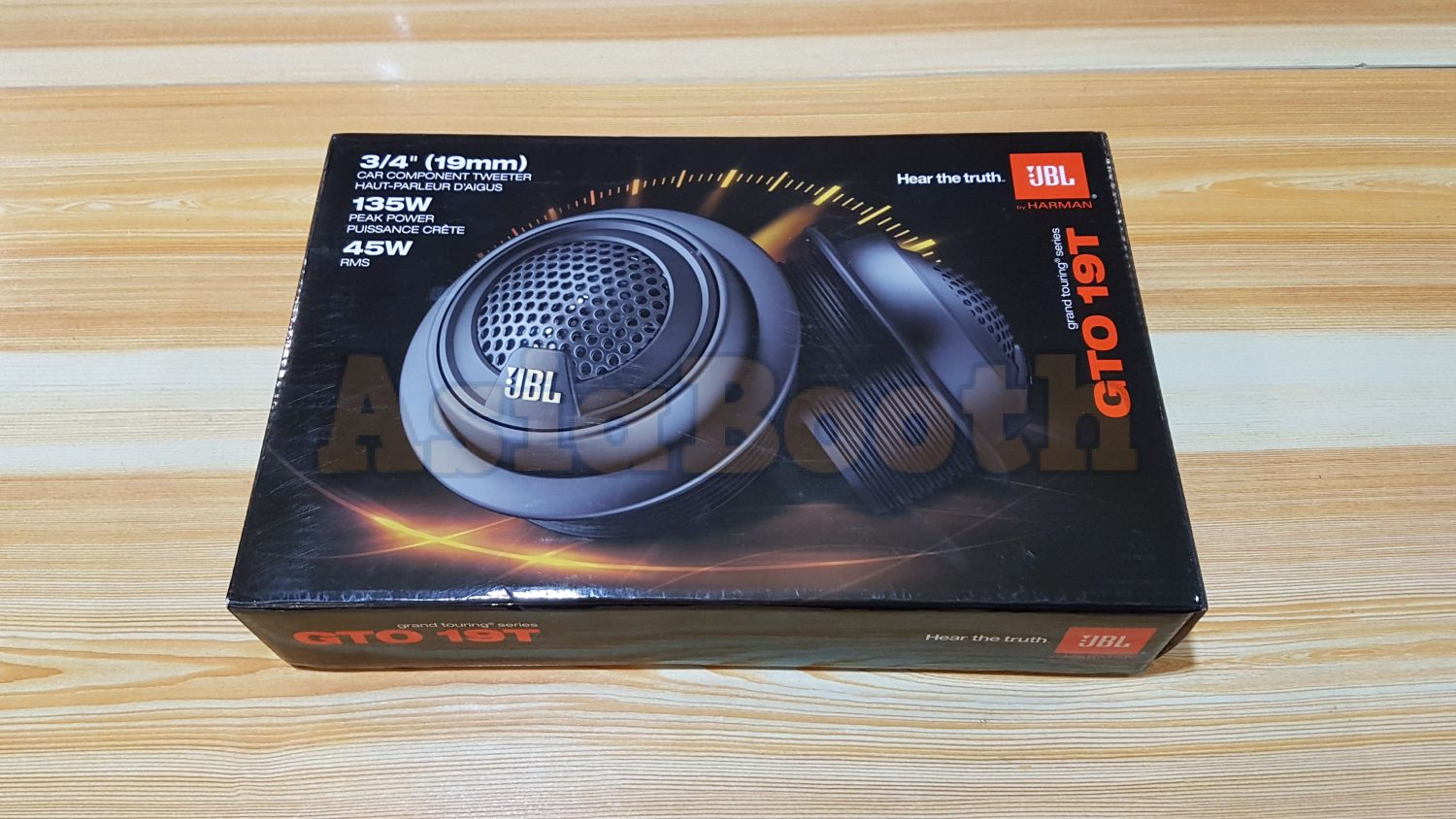 Jbl Gto 19t 3 4 Soft Dome Tweeters Car Speakers Audio Asia Booth