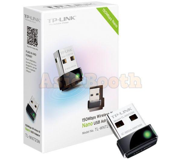 TP-Link TL-WN725N Wireless Nano USB N150 WiFi Adapter