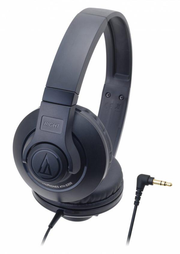 Audio Technica ATH-S300 Street Monitoring Headphones - Navy