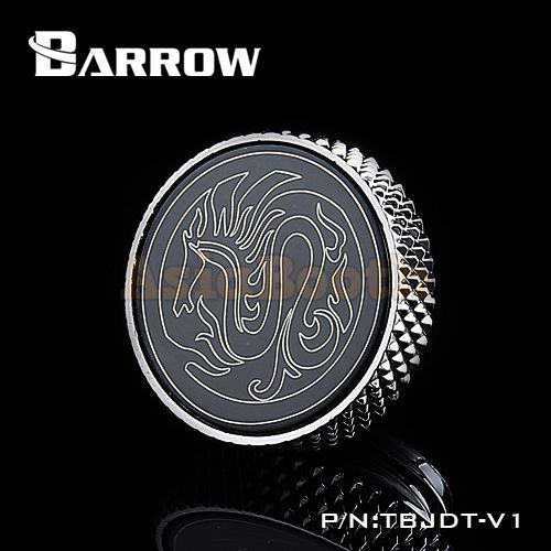 Barrow G1/4 Stop Plug Fitting PC Water Cooling - TBJDT-V1 Silver