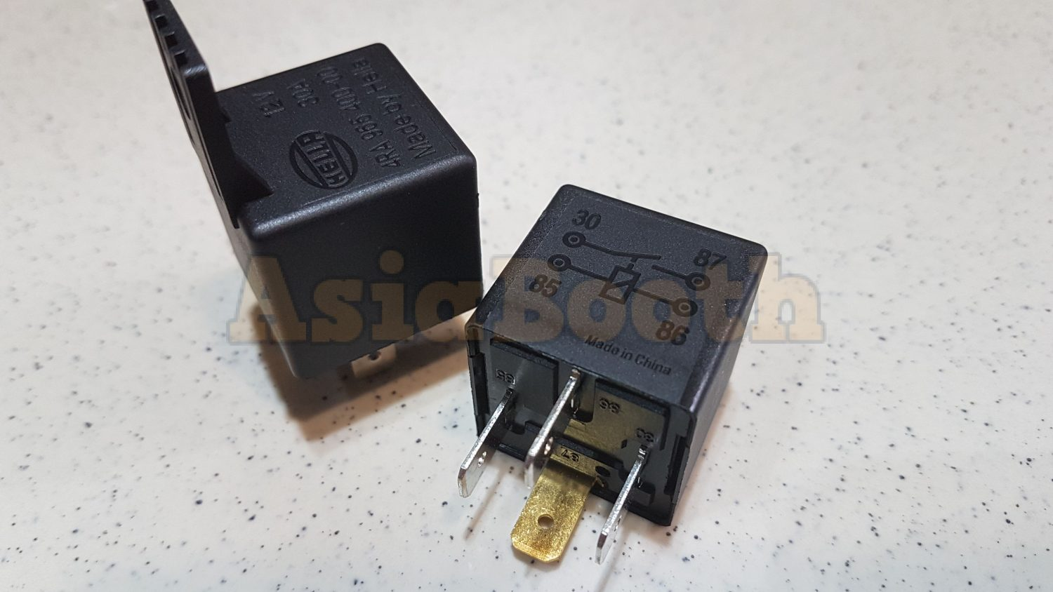 Hella Relay 4 Pin 12v 30a 2 Pieces Asia Booth 12 Volt Wiring