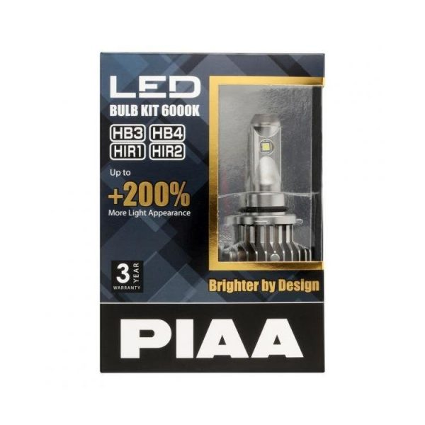 PIAA LEH121E LED Headlight / Foglight - HB3 HB4 (9005/9006) HIR1 HIR2