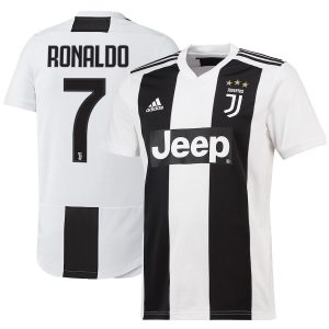2018-2019 Juventus FC Home Jersey Shirt For Men (Cristiano Ronaldo)