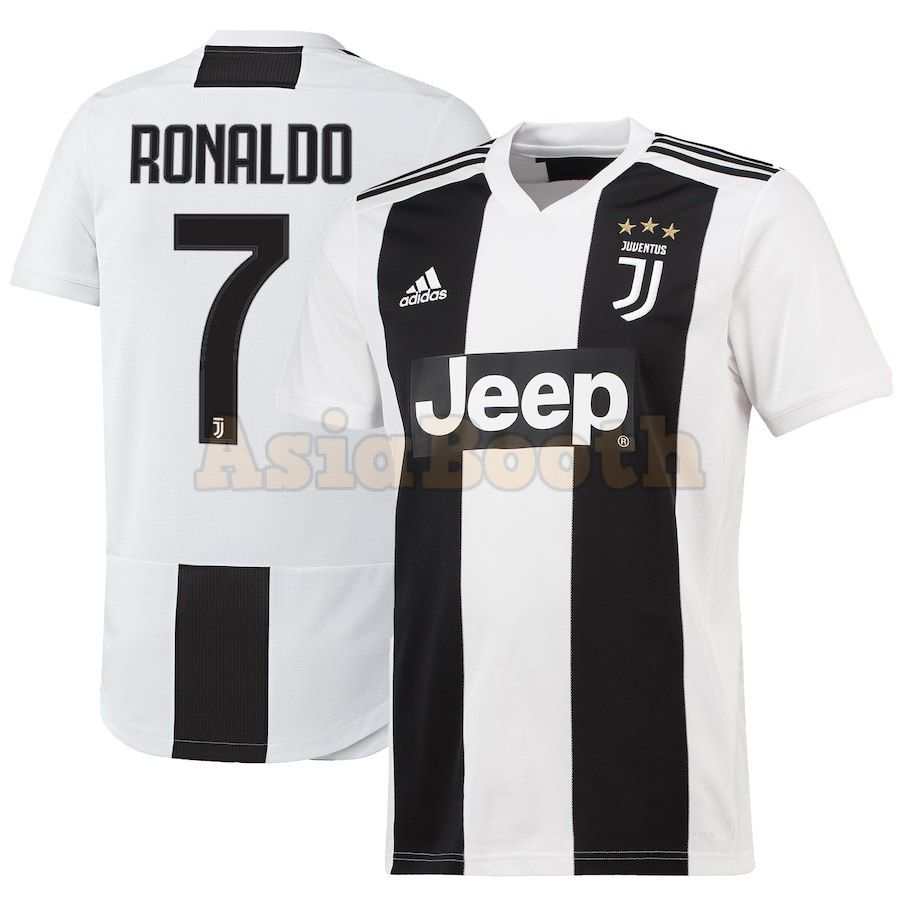 best cheap 96af2 8fc7b 2018-2019 Juventus FC Home Jersey Shirt For Men (Cristiano Ronaldo)