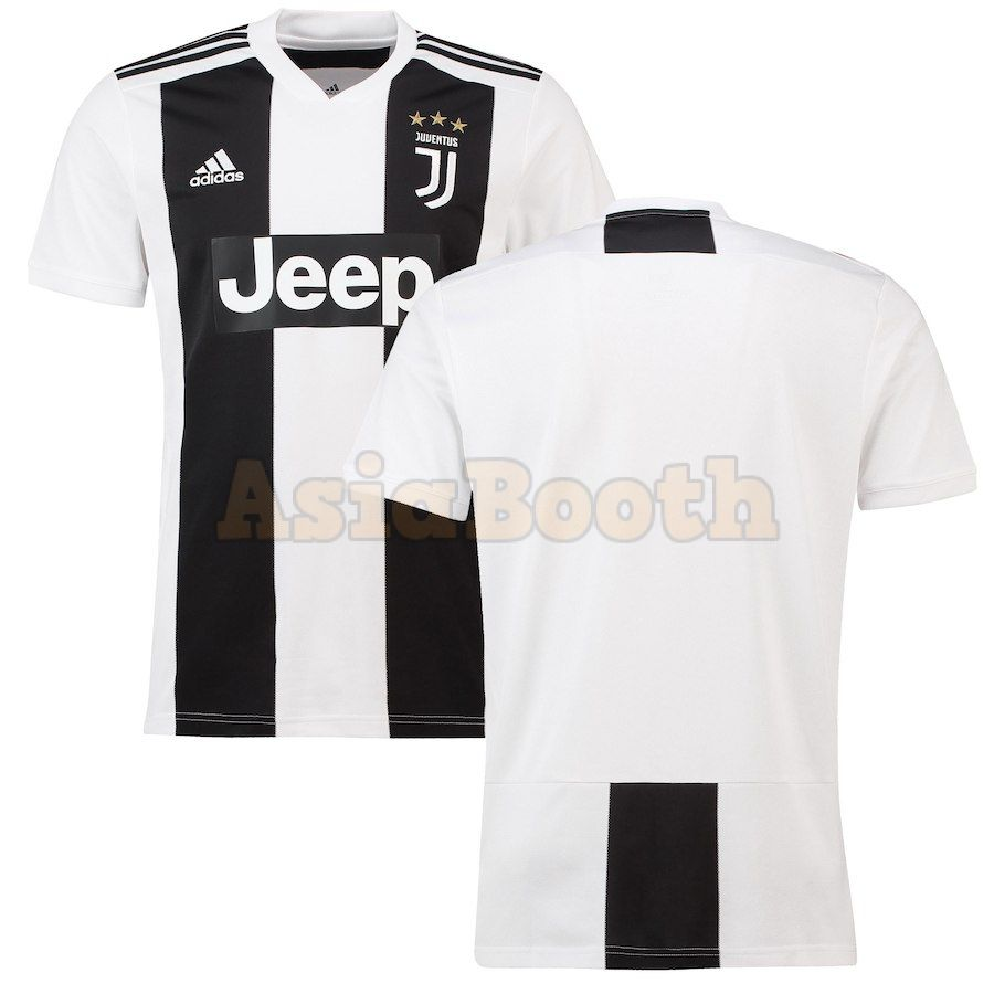 timeless design e8ee6 aae57 2018-2019 Juventus FC Home Jersey Shirt For Men