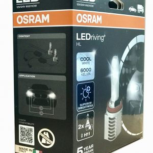 Osram LEDriving HL LED Conversion Kit 12/24V - H11 6000K 65211CW