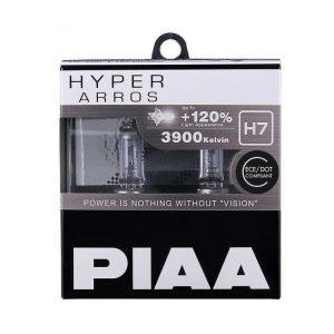 PIAA Halogen Hyper Arros 3900K 55 Watt (110Watt) - H7